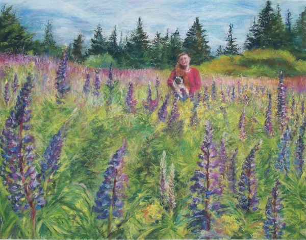 Laura McMillan commissioned pastels